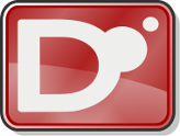 Logo for the D programming language